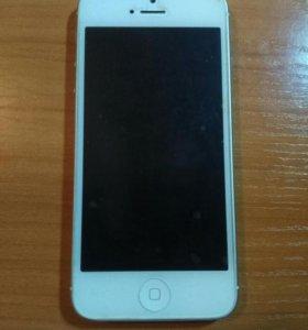 iPhone 5 16GB White. Оригинал.
