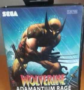 Wolverine adamantium Sega 16 bit