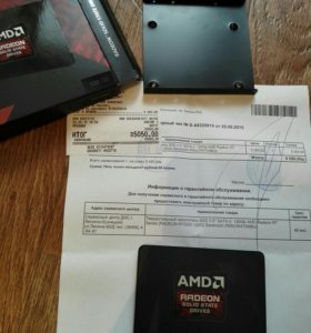 120 гб SSD-накопитель AMD Radeon R7 Series