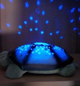 Ночник , светильник черепаха