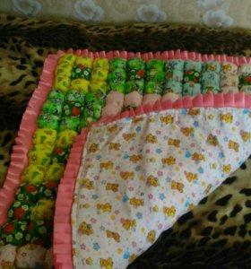 Одеяло-коврик
