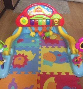 Развивающие игрушки Веселое пианино joy toy