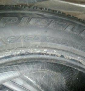 3- шины 245/60/18 Pirelli