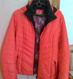 Куртка на теплую весну-осень 44-46