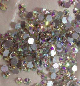 Стразы стекло 6 мм всего 576 штук