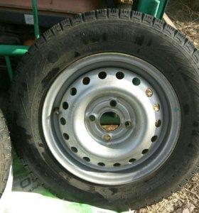 Шины, колеса, зимние, R13, Nokian Nordman RS2