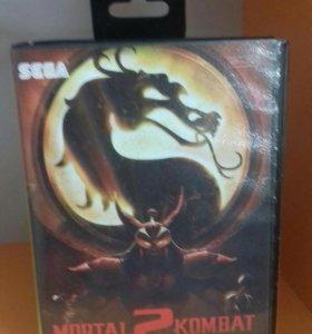 Mortal kombat 2 Sega 16 bit
