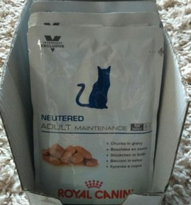 Корм для стерилизованных кошек