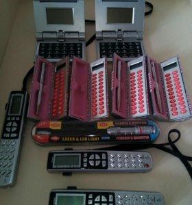 Лазерная указка , часы , калькулятор, ручка,