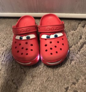 Crocs c12 (29-30) светящиеся