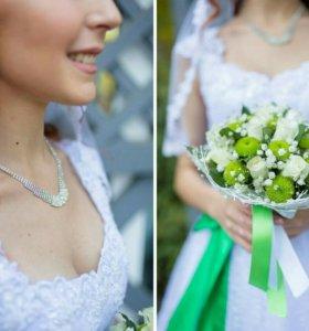 Свадебные платья ручной работы.