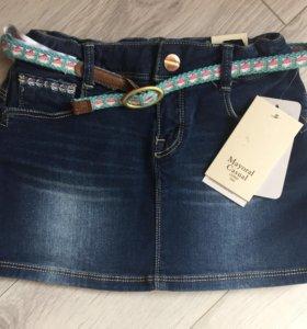 Новая юбка джинсовая Mayoral 116р