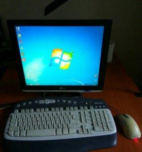 Компьютер в полной комплектации