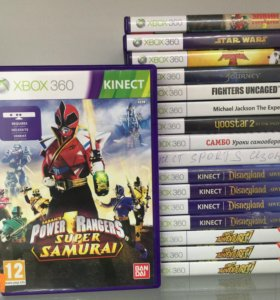 Power rangers Super Samurai Kinect Xbox 360