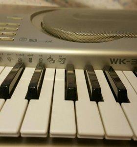 Синтезатор CASIO WK 3800