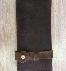 Кожаный кошелёк POLO