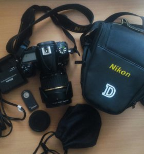 Nikon D7000 + Tamron