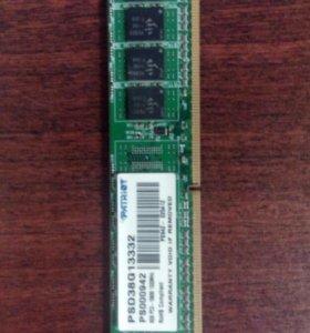 DDR3 8 gb частота 1333mhz от Patrior