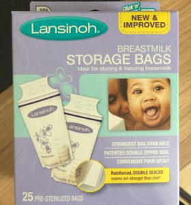 Пакеты для заморозки грудного молока