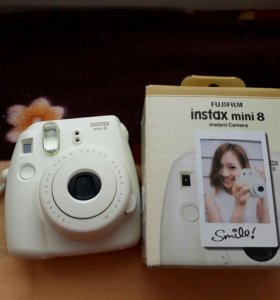 Фотоаппарат instax mini 8 + пленка к нему