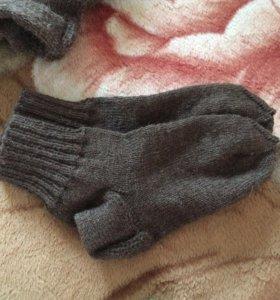 Носочки шерстяные