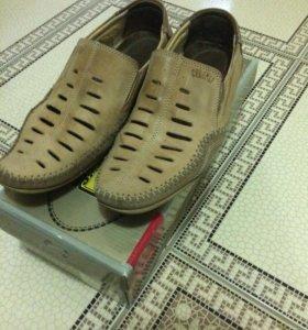 Летние туфли мужские 40-41 размер