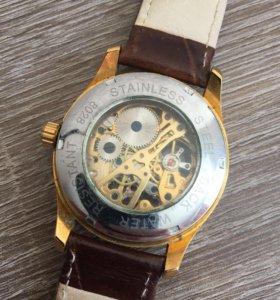 Часы winner скелетоны