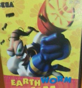 Earthworm Jim Sega 16 bit