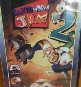 Earthworm Jim 2 Sega 16 bit