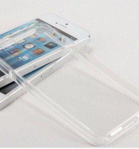 Чехол силиконовый на iPhone 5, 5s.