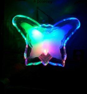 Светильник-ночник бабочка