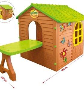 Домик игровой со столиком