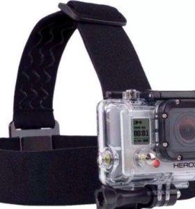 Крепление на голову для GoPro, Xiaomi, Sj