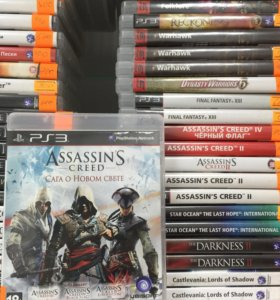 Assassins creed Сага о новом свете ps3