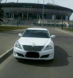 Аренда  авто представительского класса с водителем