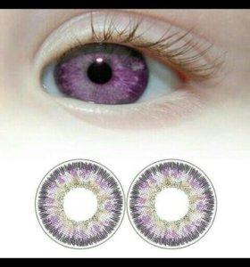 Линзы для глаз(цветные)