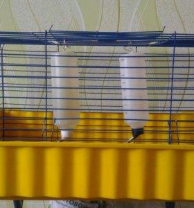Клетка для кролика или двух мор. свинок