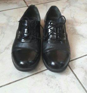 туфли нат.кожа р.34