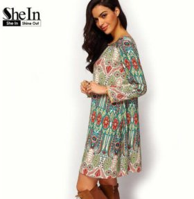 Платье-туника S-M