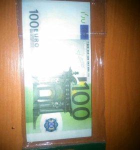 Пачка евро))