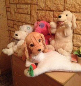 Мягкие игрушки все за 1500