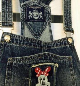 Комбинезон женский джинсовый!обмен