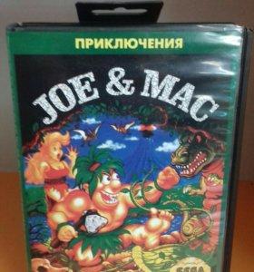 Joe & Mac Sega 16 bit