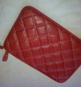 чехол кожа для планшета 10 дюймов,красный