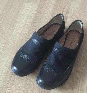 Кожаные ботинки Elizabeth