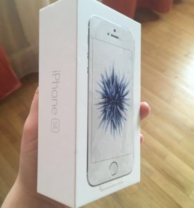 IPhone SE Silver 16 gb