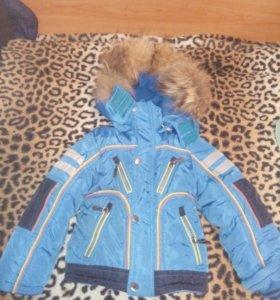 Куртка детская зимняя 1-2 года