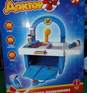 Набор доктора игрушка