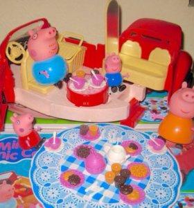 Свинка Пеппа машинка для пикника