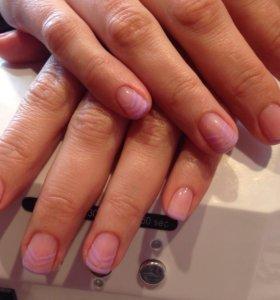 Маникюр, педикюр, дизайн на ногтях